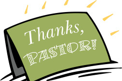 Musings on Pastor Appreciation Emphasis